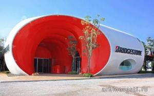 Павильон Bridgestone от Architectkidd. Бангкок, Таиланд