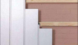 Как крепить стеновые панели ПВХ