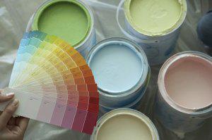 Как колеровать краски