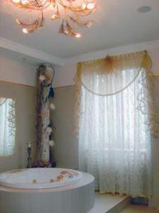 Дизайн штор для ванной