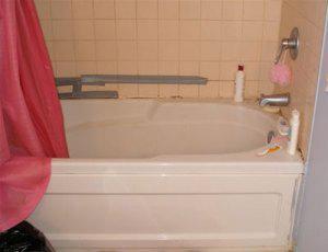 Реставрация старой ванной