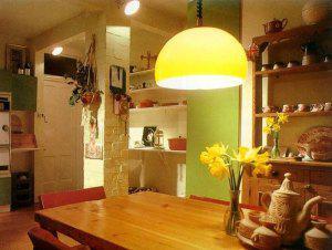 Освещение комнаты, зрительное изменение масштабов