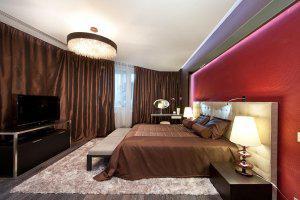 Управление освещением в спальне