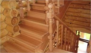 Как сделать лестницу на даче