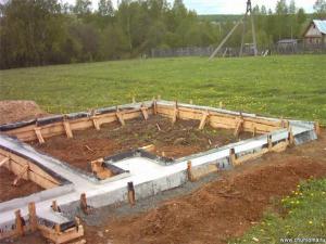 Коротко советы по укладке, строительству фундамента