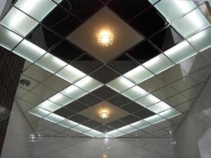 Кассетные и реечные подвесные потолки