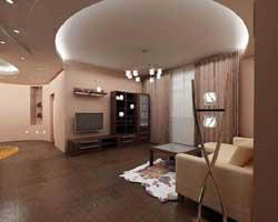 Ремонт потолка в прихожей
