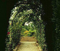 Как самостоятельно изготовить арку у входа в сад